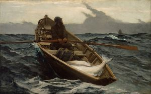 The Fog Warning, Winslow Homer