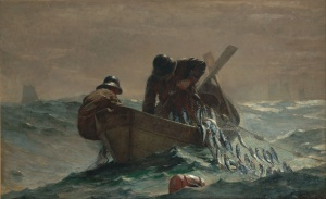 The Herring Net, Winslow Homer