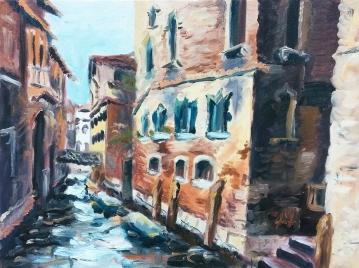 """-Available- """"Venice"""" - 18x24, Oil"""