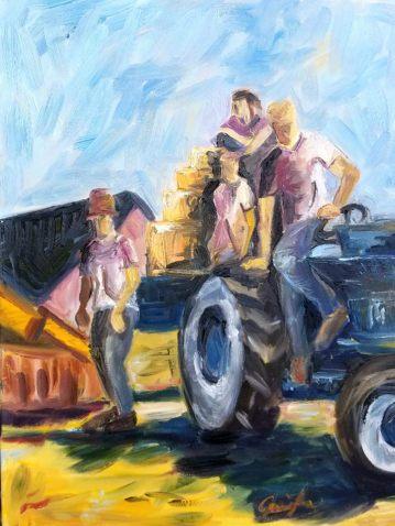 -Commission- 16x20, Oil